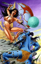 Solarra the Huntress #1